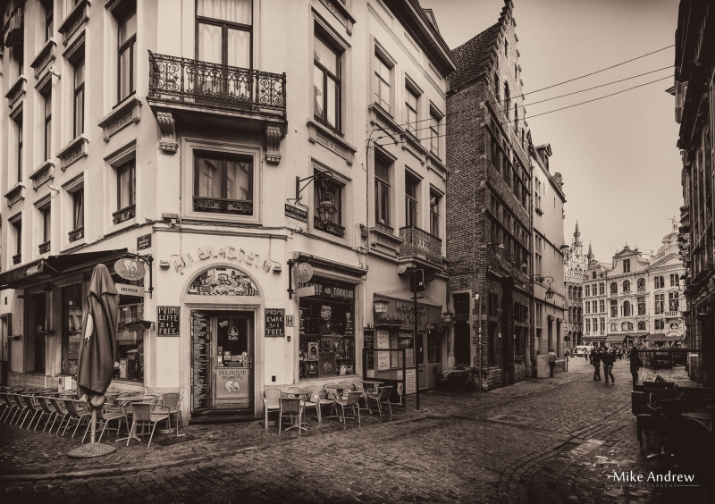 Old Cafe Brussels Belgium