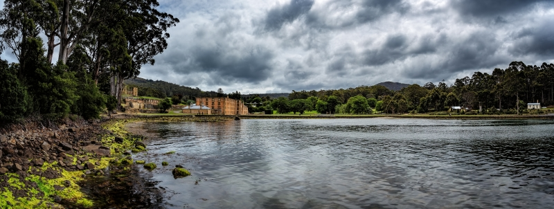 Port Arthur Penitentiary Panorama