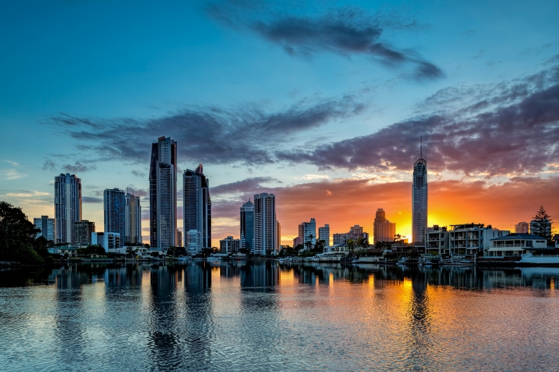Surfers Paradise Sunrise