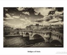 Bridges of Paris BW