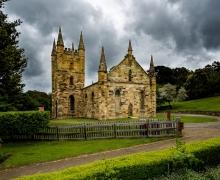 Port Arthur's Old Church Ruins