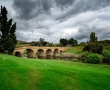 Old Richmond Bridge Tasmania