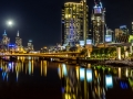 Melbourne by Night Panorama
