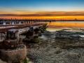 Sunset St Kilda Pier Melbourne