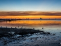 Sunset St Kilda Beach Melbourne