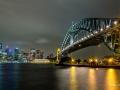 Harbour Bridge Sydney with Streaker