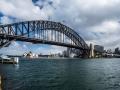 Sydney Harbour Bridge from Milsons Point