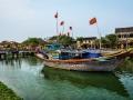 Ferry Boat Hoi An South Vietnam