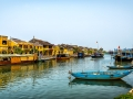 Canal and Boats Hoi An Vietnam