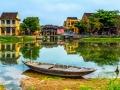 Fishing Boat Hoi An Vietnam