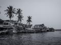 Fishing Village Hoi An Vietnam B&W