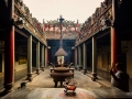 Old Temple Saigon South Vietnam