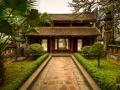 Temple Entrance Hoa Lu North Vietnam