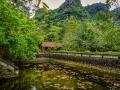 Temple Garden Hoa Lu North Vietnam