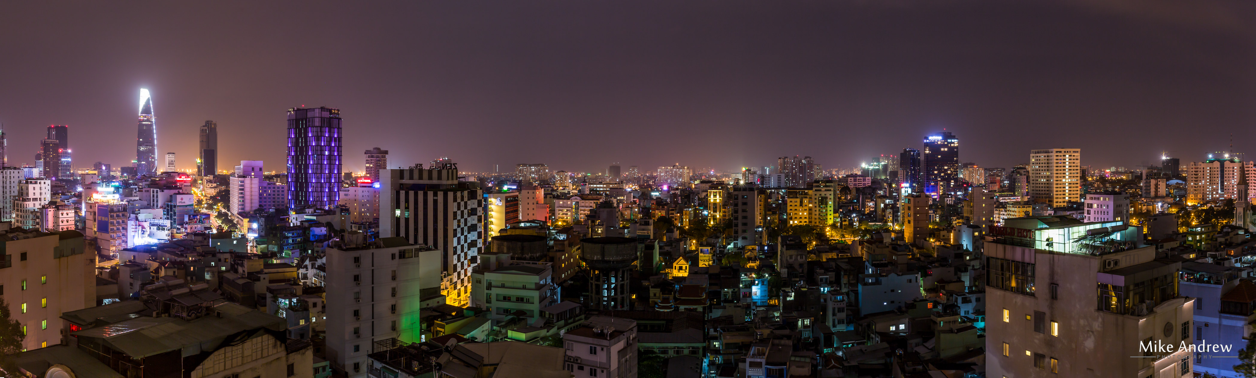 Ho Chi Minh City panorama - Is this modern or western?