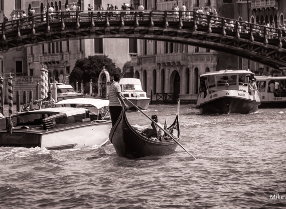 Venice Traffic in Peak Hour