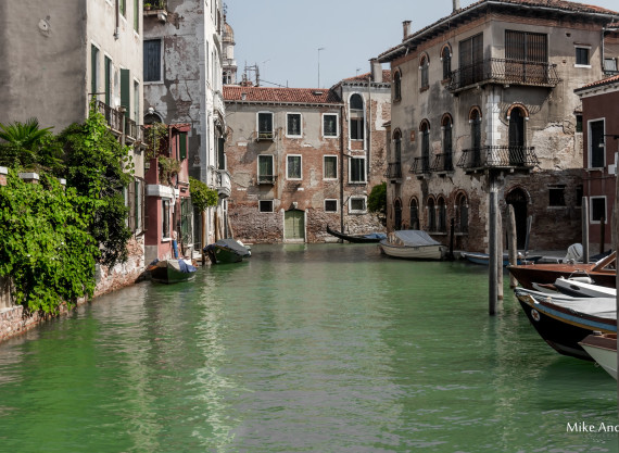 Old Canal in Venice