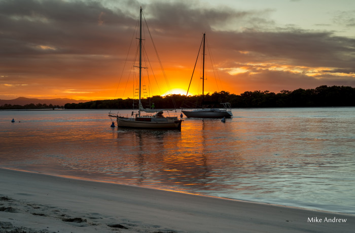 Yachts in the Sunset – Paradise Point