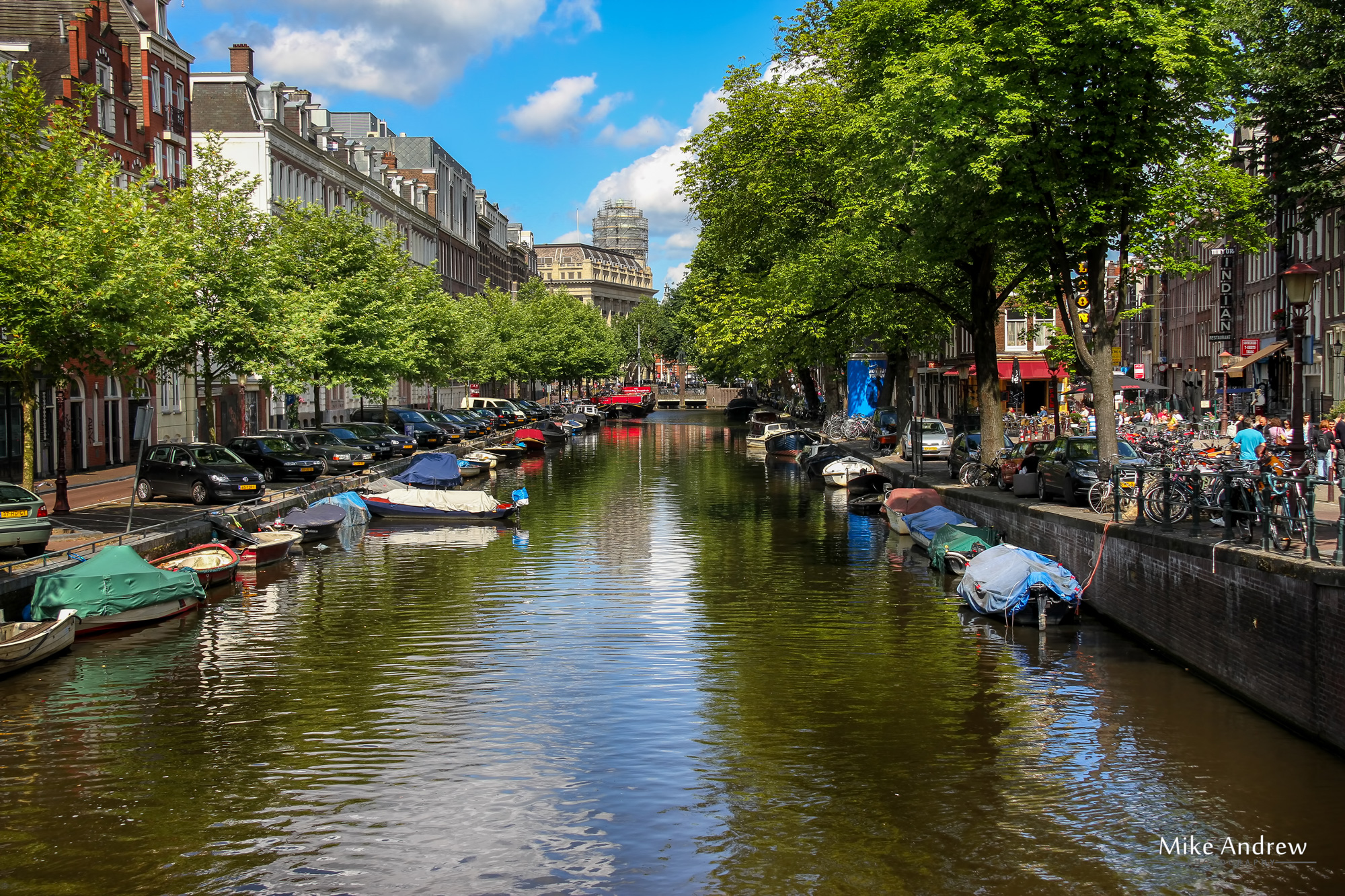 amsterdam canals in colour - Mike Andrew Photography