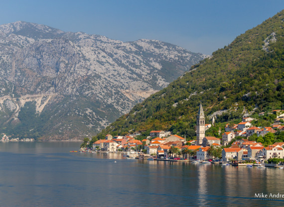 The Entrance to Kotor Montenegro