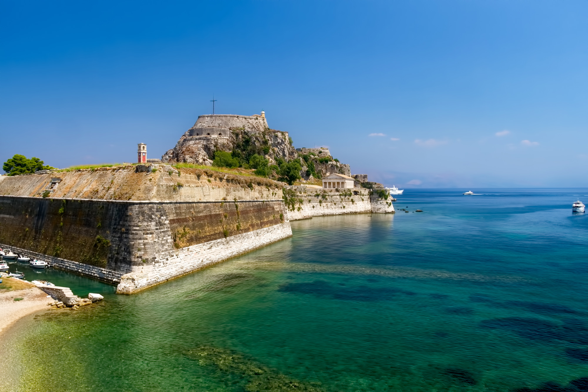 Old-Fortress-Corfu Greece image by Mike Andrew Photography