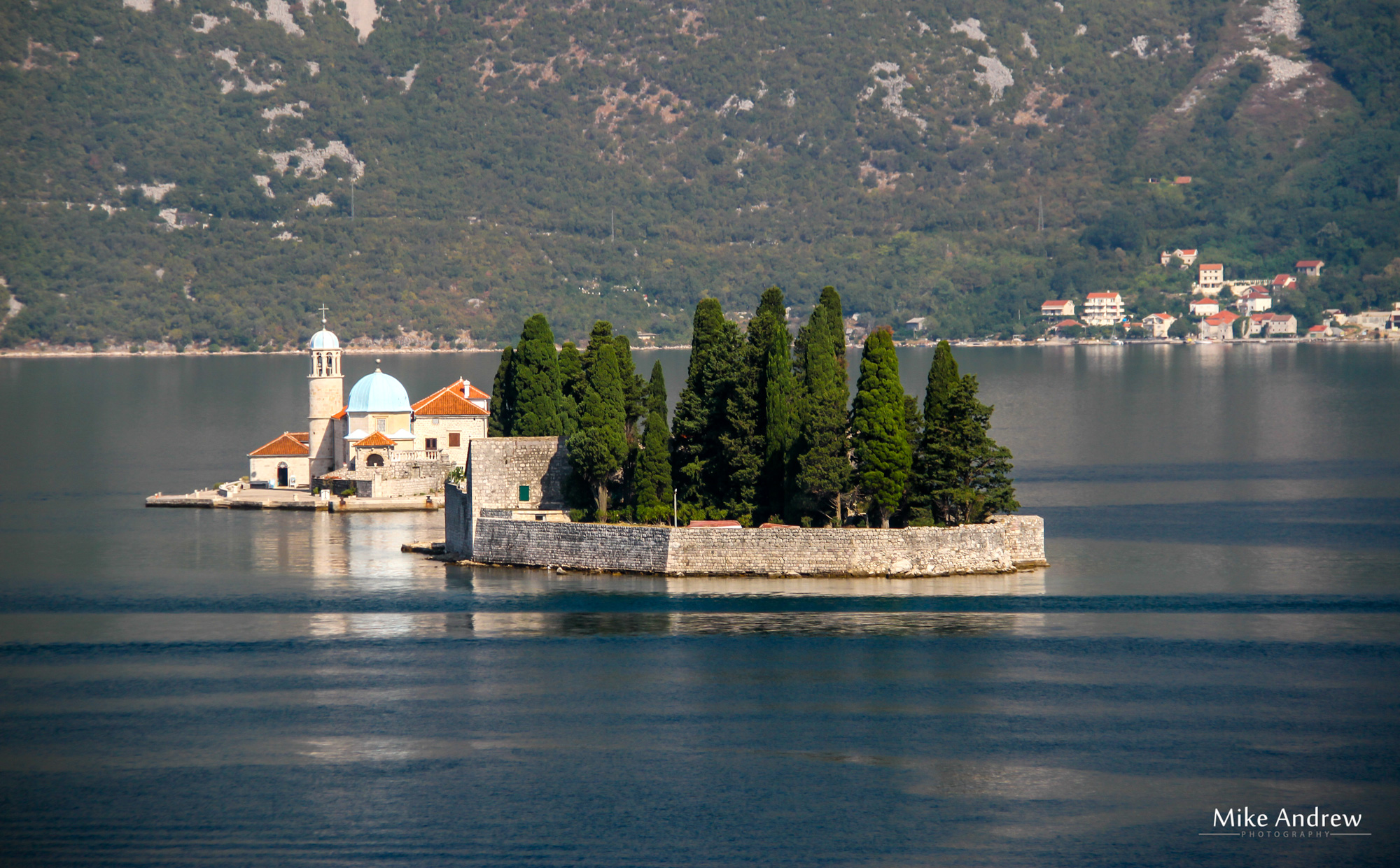 The Islet our Lady Of the Rocks Kotor Montenegro