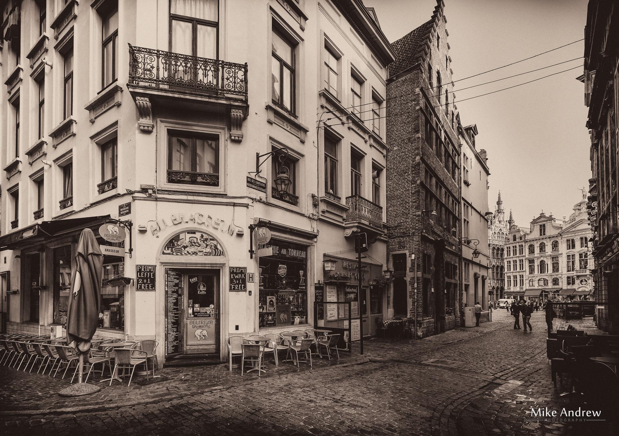 Rue Des Chapeliers Brussels Belgium