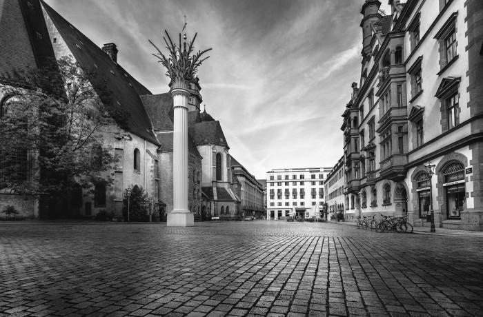 Urban Street – City Square Leipzig Germany