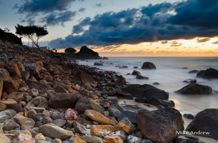 Snapper Rocks at Dawn